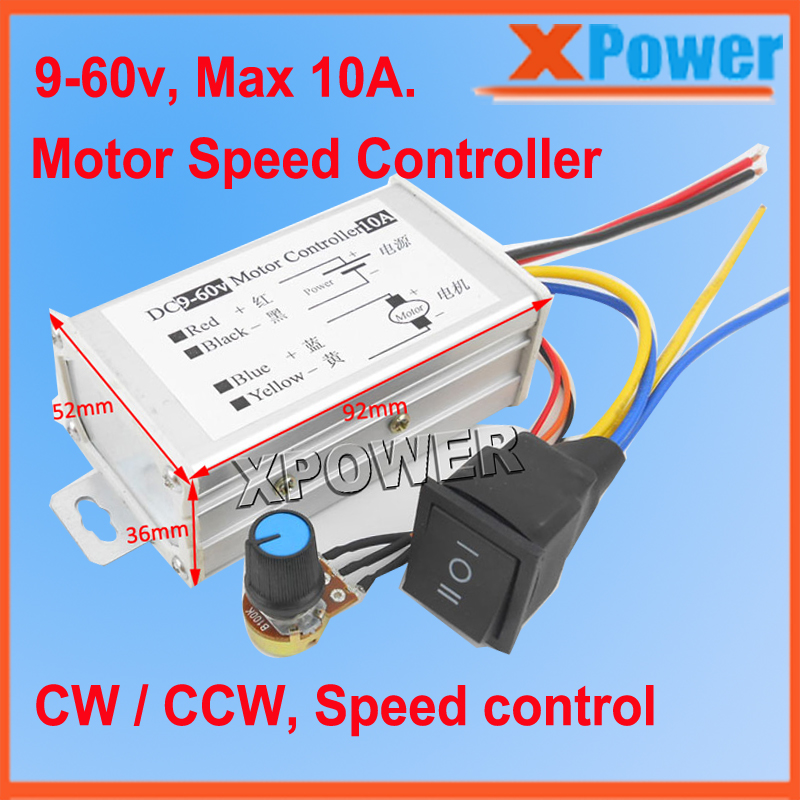 Hot Sales 9v 24v Pwm 12v Dc Motor Speed Controller