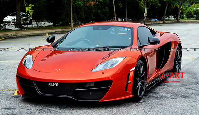 Z ART carbon fiber body kit for Mclaren MP4 12C for Revoz port front ...