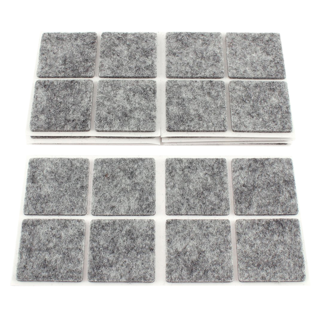 Hot Sale 40pcs Furniture Feet Antislip Adhesive Felt Floor Protector Pads No-noise Furniture Table Leg Rug Felt Pads Bumper Damp