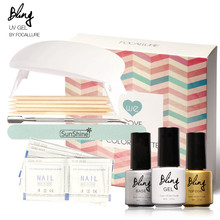 The Wedding Colors Palette Gel Nail Polish Set With Lamp