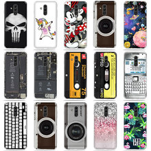 For Huawei Mate 20 Lite Case Cover Silicone 6.3'' Cute Cartoon Phone Case For Huawei Mate 20Lite SNE-AL00 SNE-LX1 Back Cover Bag s lie sne