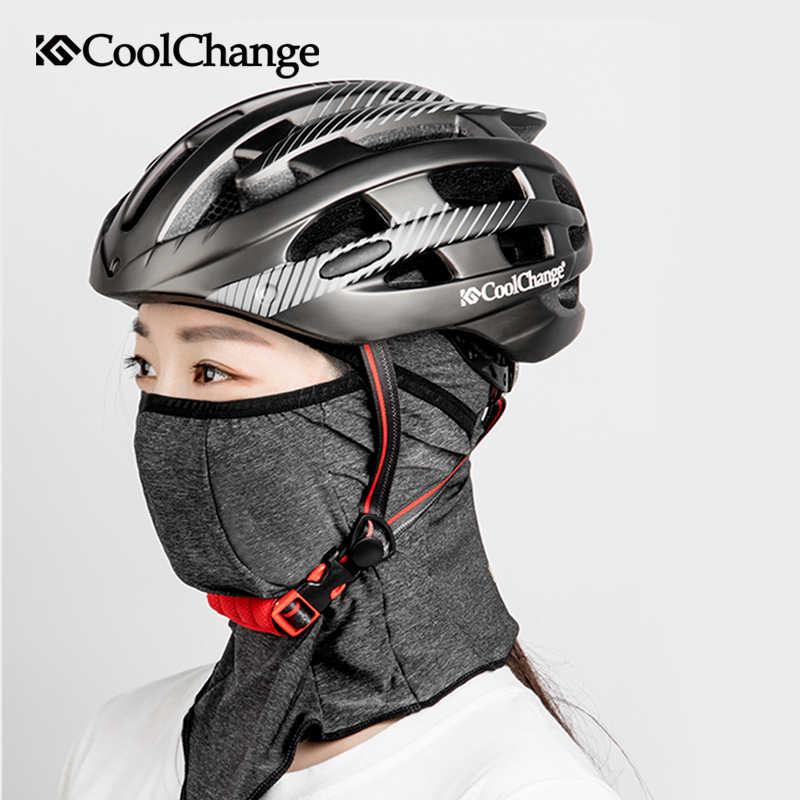 Coolchange Matahari Musim Panas Perlindungan Bersepeda Masker Keren Anti Sinar UV Sepeda Mulut Wajah Masker Moto Hiasan Kepala Bandana Olahraga Memancing Hat Syal