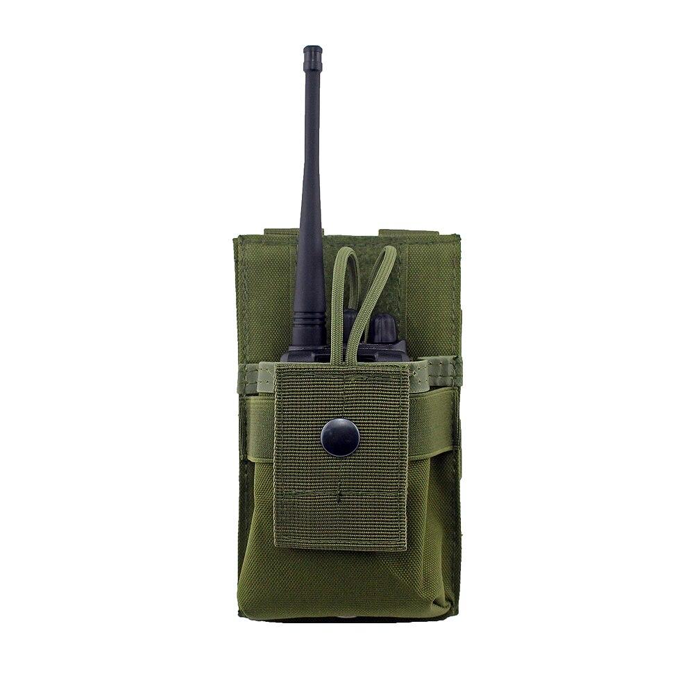 Bulle Tan MOLLE Sangle Tactique double Pistol Mag Pouch double utilitaire poche