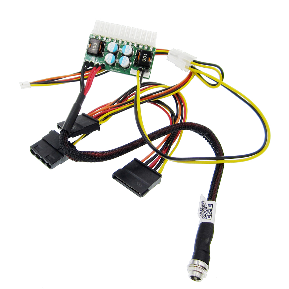 new! PCI-E 6pin Input DC-ATX-250W 24pin Power Supply Module Swithc Pico PSU Car Auto Min ...