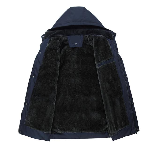 New Arrival Winter Jacket Men Thick Warm Windbreaker Soft Coat Winter Coat Men Casual Jacket  Men Parka Hooded Outwear Coats