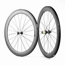 Ruedas tubulares de carbono de 700C, 25mm, bladex, 60mm de profundidad, para bicicleta de carretera, la mejor venta a muchas tiendas y equipos, oferta en línea