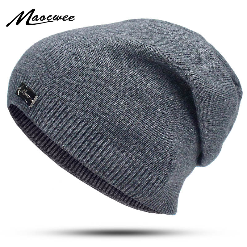 Unisex Spring Autumn Hats For Women Men   Skullies   Caps Women Men Solid Cotton Elasticity Warm Knitted   Beanie   Hat