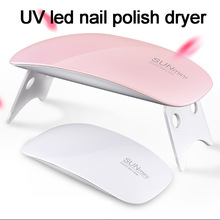 NEW led gel nail polishled lamp for drying fingernails UV GEL Curing Light  mini uv led nail polish dryer led curing nail light