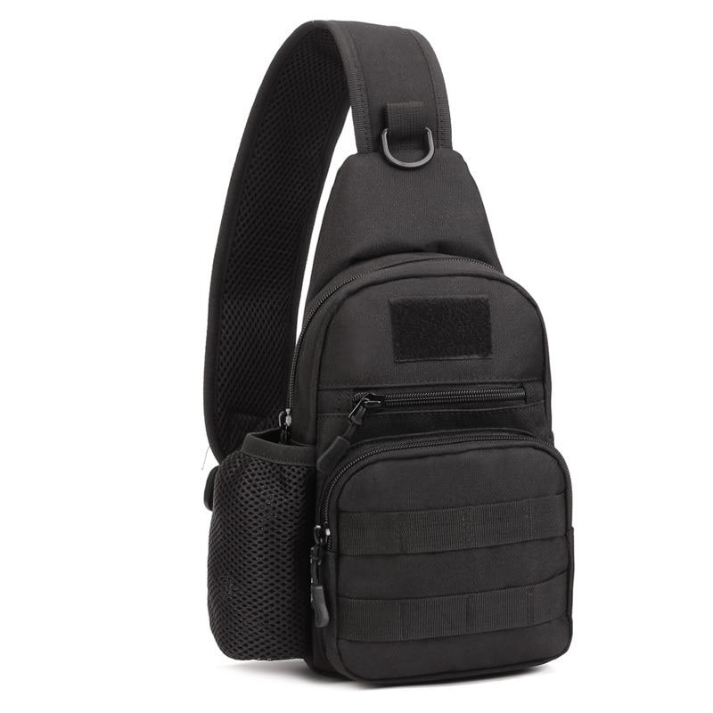 2017 New Men 1000D Nylon Military Travel Water Bottle Shoulder Messenger Sling Pack Chest Waterproof Bag