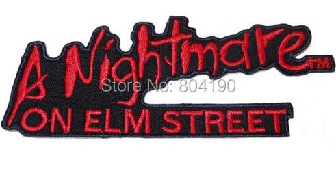 Eine Nightmare on Elm Street horrible TV Movie Serie punk rockabilly applikation nähen auf/eisen auf flecken kleidung anwendung-in Aufnäher aus Heim und Garten bei  Gruppe 1