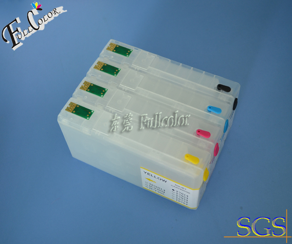 Free shipping IC90 printer ink cartridge for epson PX-B750F with permanent chip without ink