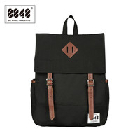 Balck Unisex Backpack Resistant Casual Travel Outdoor Hot Sale Knapsak Fashion European American Style Whosale Retail