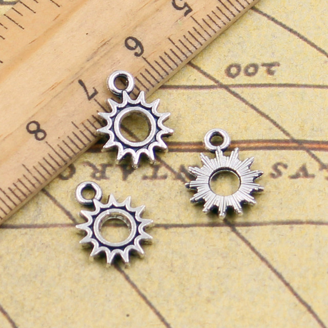 10pcs charms sun steampunk gear 1215mm tibetan silver plated 10pcs charms sun steampunk gear 1215mm tibetan silver plated pendants antique jewelry making diy mozeypictures Gallery