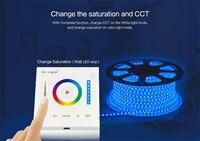 Mi Luz 12 v-24 v Smart Touch Panel Dimmer Controlador de Temperatura de Cor RGB/RGBW/RGB + CCT para lâmpadas led strip P3
