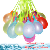 999pcs Water Filled Balloon Toys Magic Summer Beach Party Outdoor Filling Water Bombs Toy For Kids Adult Children