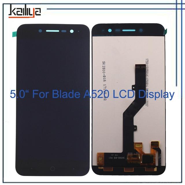 bf25244bb5b Para ZTE Blade A520 pantalla táctil + pantalla LCD digitalizador Smartphone  reemplazo negro 5 pulgadas para