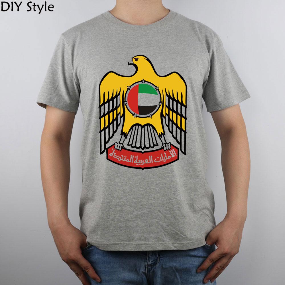f57e135f46a ộ_ộ ༽Emblem Of The United Arab Emirates t-shirt Top Pure Cotton Men ...
