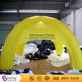 Бесплатная Доставка Желтый надувной купол палатки кемпинга игрушка палатка