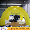 Free Shipping Yellow inflatable dome camping tent toy tent