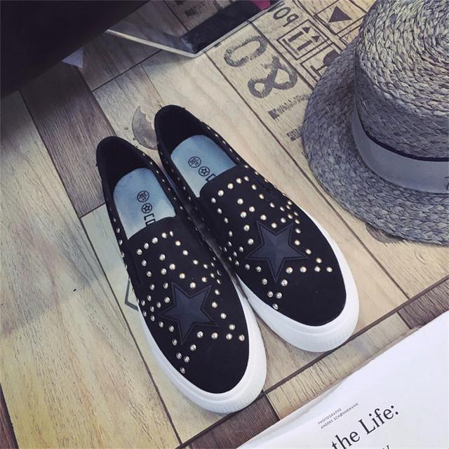 A senhora deputada win 2017 Primavera Verão Mulheres Movimento Estudantil Lona Branca Sapatos Casuais Zapatillas Mulher Meninas Sapatos de Superstar