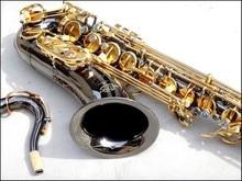 Tenor Saxophone Instruments Reference  Drop B Saxophone Black Nickel Gold Tenor Surface Sax Musical Instrument