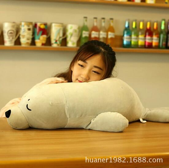 80cm Elastic super soft Sea lions plush toy lions pillow gift for Christmas super cute plush toy dog doll as a christmas gift for children s home decoration 20