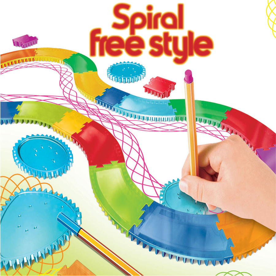 Interchangeable Frame Pieces Spirograph Drawing Toys Assembled Into Different Shapes,freestyle Spiral Designs Educational Toys