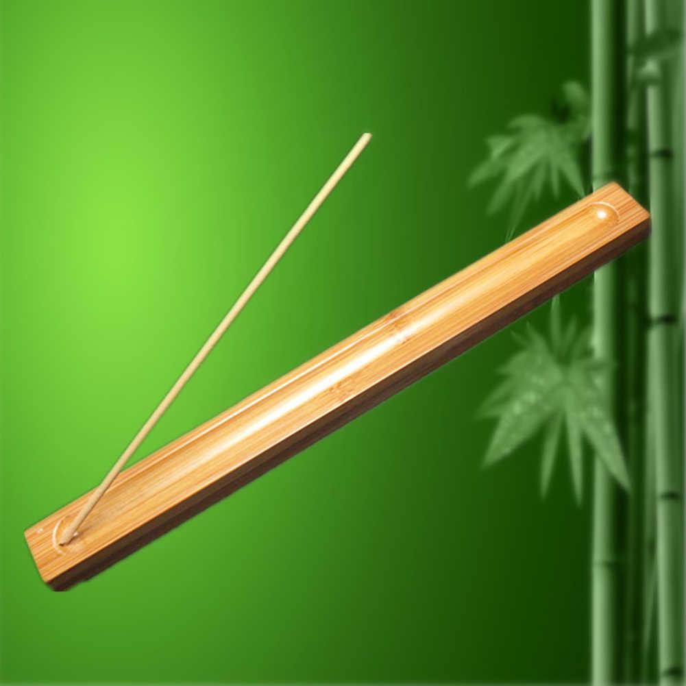 Декоративный офисный подарок ладан горелка держатель посуда традиционная тарелка бамбук ароматный домашний Ремесло Портативный