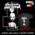 Stoner Metal Band Electric Wizard Wizard-lavey Algodón Ocasional de Impresión Camiseta de La Camiseta