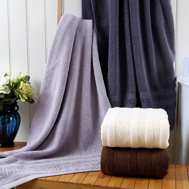1PC 35x75cm Thicken Cotton Absorbent Hand Towel Wiping Face Towel Quick Drying Bath Towel Bathroom Kitchen Towels Supplies in Hair Towels from Home Garden