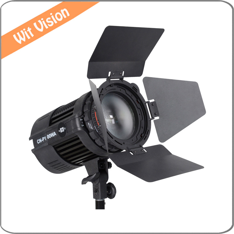 Nanguang 100W LED Studio Light CN-P100WA Fresnel Spotlight for Photography Video Studio nanguang cn r640 cn r640 photography video studio 640 led continuous ring light 5600k day lighting led video light with tripod