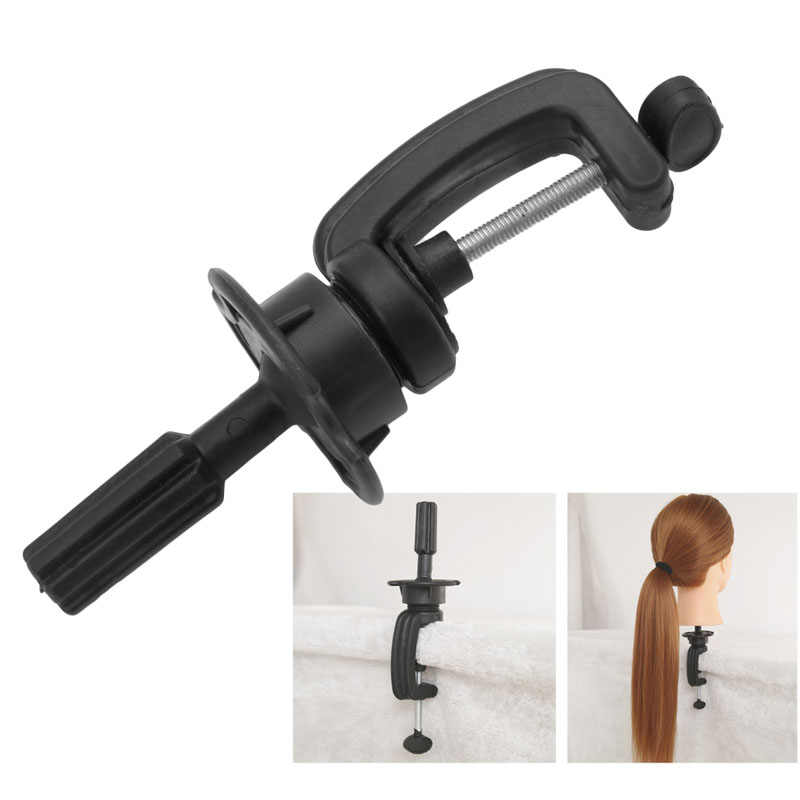 Black Adjustable Mannequin Holder Wigs Stand For Mannequin Head Hair Training Tool Styling Tools Accessories