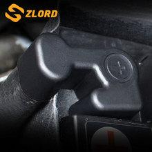 Zlord ABS автомобильный двигатель батарея водонепроницаемый Пылезащитная Крышка для Volkswagen Vw Golf 5 6 7 MK5 MK6 MK7 аксессуары