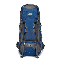 Открытый 80L большой рюкзак Водонепроницаемый унисекс нейлоновые дорожные сумки Кемпинг Туризм альпинистские рюкзаки водонепроницаемый рю