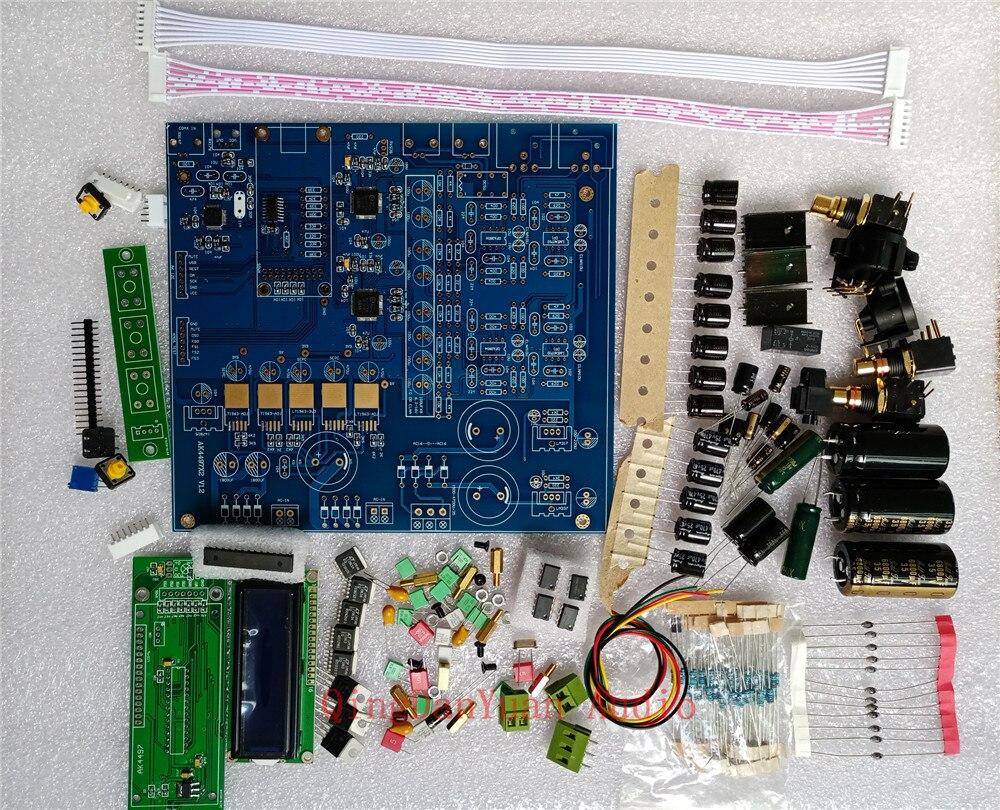 US $188 8  Q7 Dual AK4497 AK4497EQ Parallel Audio DAC Decoder Balance XLR  output DIY KIT-in Digital-to-Analog Converter from Consumer Electronics on