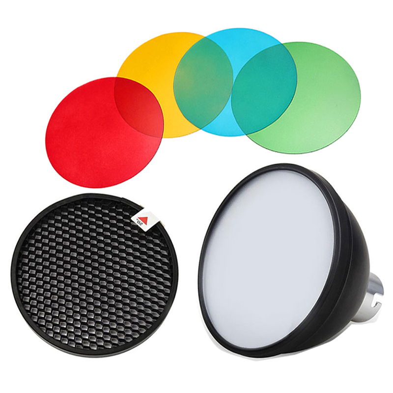 Image 2 - Godox AD S11 Color Gels Filter Honeycomb Grid  AD S2 Standard  Reflector Soft Diffuser for Witstro AD 360 II AD360II AD180 AD200Photo  Studio Accessories