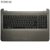 UK Laptop keyboard For HP 250 G5 255 G5 256 G5 15 BA 15 AY TPN C125 ​TPN C126 HQ TRE with touchpad palmrest Upper cover