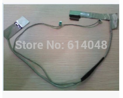 WZSM Wholesale New LCD Flex Video Cable for lenovo B590 B580 V580 50.4TE09.001 free shipping genuine led lcd screen cable for lenovo b590 b580 v580 video screen led lcd lb58 lvds cable 50 4te09 001