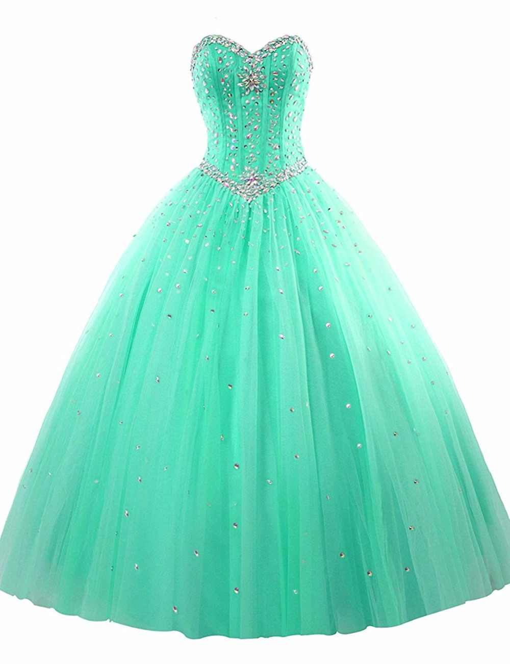 4def0657628 ... Bealegantom 2019 100% Real Photo Ball Gown Quinceanera Dresses Beaded  Lace Up Sweet 16 Dress ...
