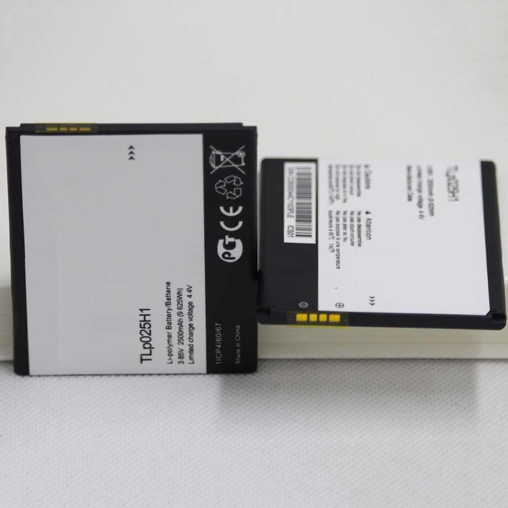 10 шт./лот TLp025H1 внутреннее размещение батареи для Alcatel 5051 Pop 4 (5 0) 2500 мАч батарея