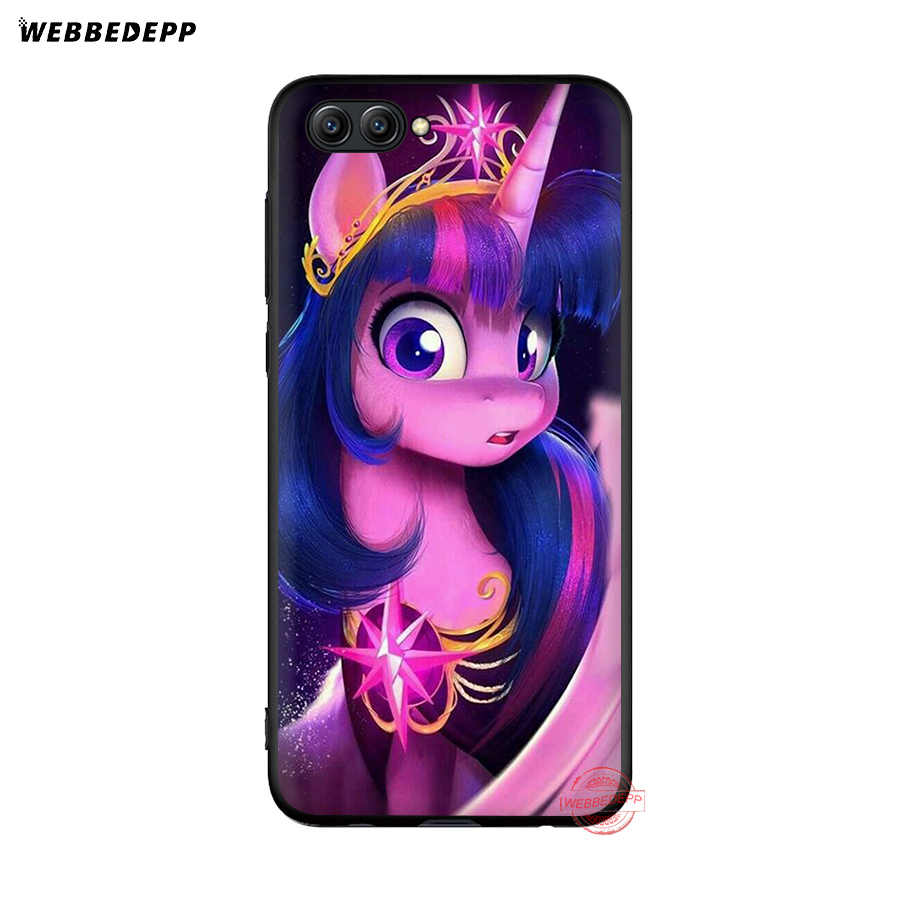 WEBBEDEPP My Little Pony friendly is Magic мягкий чехол для Honor 20 10 9X8 Lite 8C 8X 7X 7C 7A 3GB 6A Pro View 20