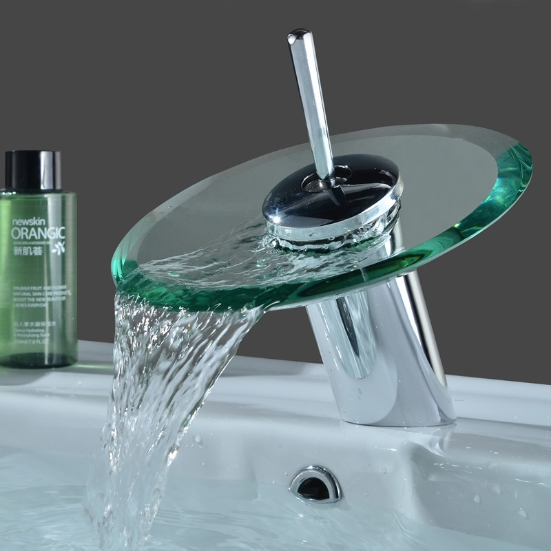 Popular Glass Bathroom Taps Buy Cheap Glass Bathroom Taps Lots