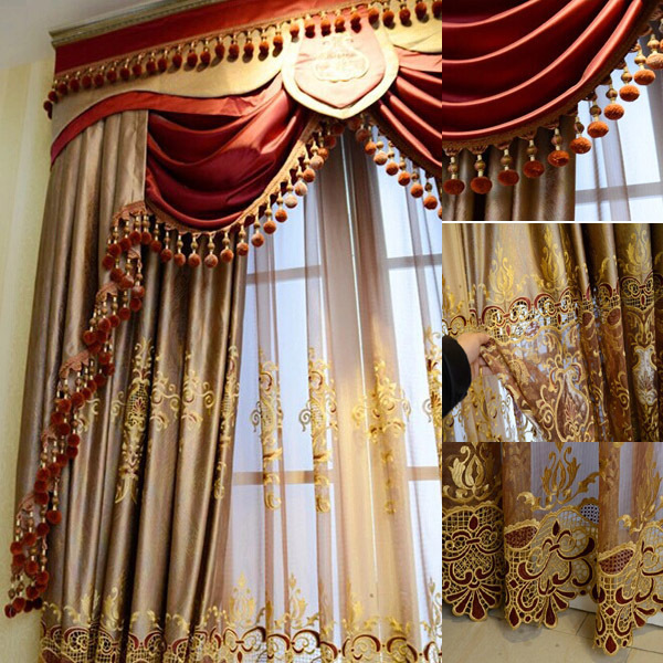 2016 Fashion New Design Luxury Window Elegant Valance