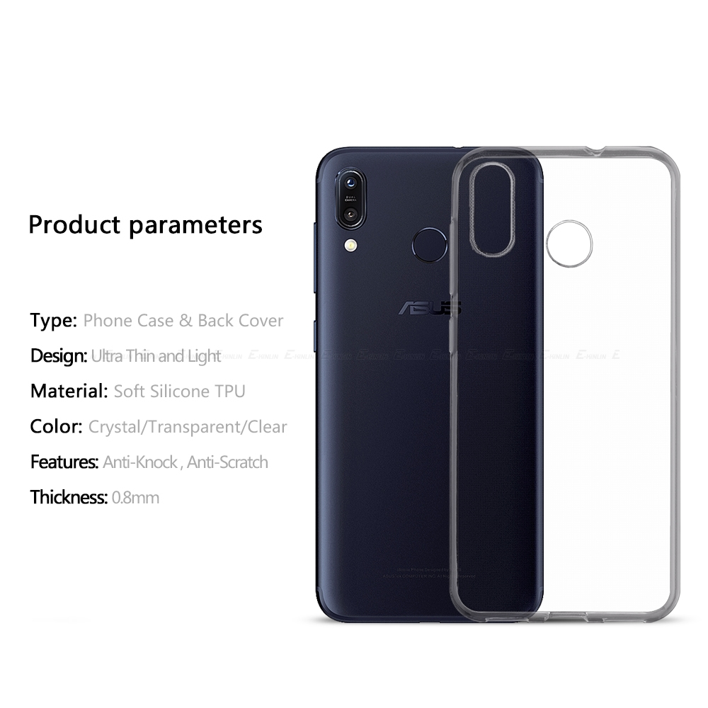 Ultra Thin Slim Clear Soft TPU Case For Asus ZenFone Max Plus Pro M1 M2 ZB570TL ZB555KL ZB602KL ZB633KL Back Phone Cover