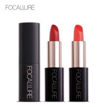 Focallure Lipstick 20 Colors High Quality Moisturizer Mat Matte Red Lip Sticks  Long-lasting Cosmetic for Makeup