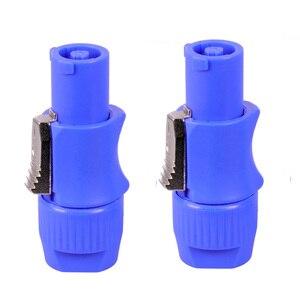 Image 4 - 100 ชิ้น/ล็อต 3 PIN AC ปลั๊ก NAC3FCA NAC3FCB 20A/250V AC Power Plug สำหรับ STAGE ไฟ LED หน้าจอลวดเชื่อมต่อ
