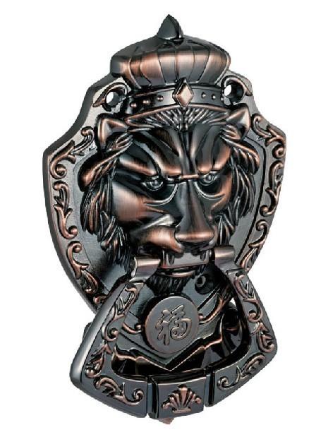 Gavetas de leão de bronze Hardware Pull Handle Knob ( tamanhos : 175 mm * 110 mm, Tamanho : 70 mm * 95 mm )