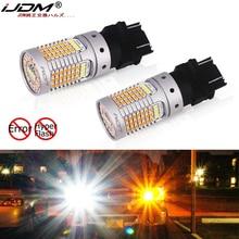 Ijdm oem substituir error canbus livre 3157 led 3357 3457 t25 lâmpadas led para ford F 150 F 250 F 350 transformar a luz do sinal e lâmpadas drl