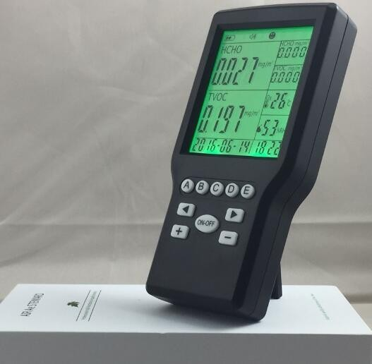 Free Shipping Desktop Indoor Air Quality Monitor RH 0~9999ppm Monitor 0 2000ppm range wall mount indoor air quality temperature rh carbon dioxide co2 monitor digital meter sensor controller