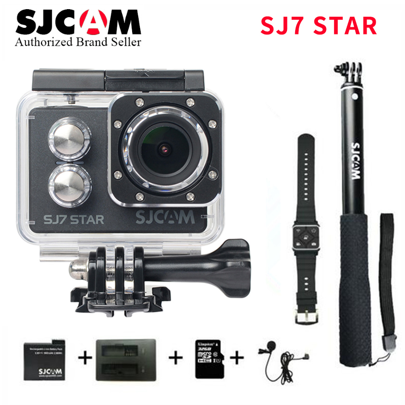 Original SJCAM SJ7 Star 4K 30fps Ambarella A12S75 Ultra HD Action Camera 2.0 Touch Screen Waterproof Remote Sport DV pro sj cam